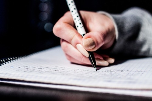 Pixabay student writing